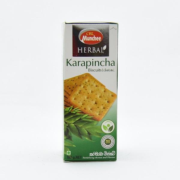 Munchee Biscuit Herbal Karapincha 100g - in Sri Lanka
