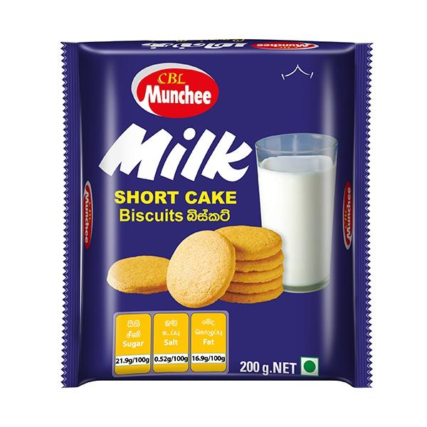 Munchee Biscuit Milk Short Cake 200g - in Sri Lanka