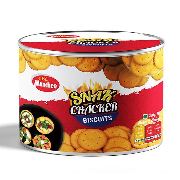 Munchee Biscuit Snak Cracker 260g - MUNCHEE - Biscuits - in Sri Lanka