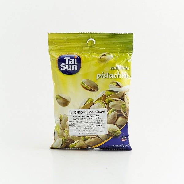 Tai Sun Salted Pistachios 40G - in Sri Lanka
