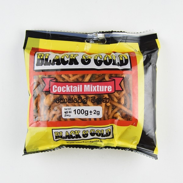 Black & Gold Cocktail Mixture 100G - in Sri Lanka