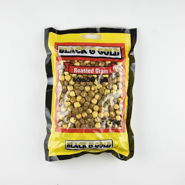 Black & Gold Roasted Gram 200G - BLACK & GOLD - Snacks - in Sri Lanka