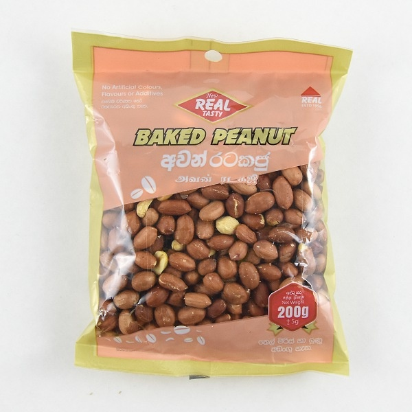 Real Tasty Baked Peanut 200G - in Sri Lanka
