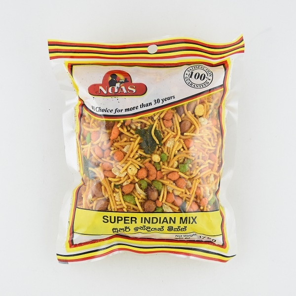 Noas Super Indian Mix 175g - NOAS - Snacks - in Sri Lanka