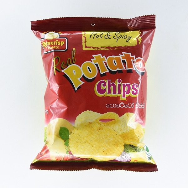 Rancrisp Potato Chip Hot & Spicy 60G - in Sri Lanka