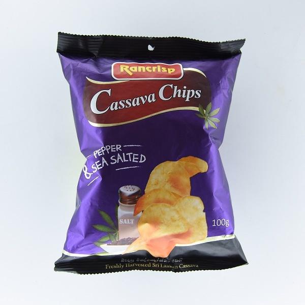Rancrisp Cassava Chips Salt & Pepper 100g - in Sri Lanka