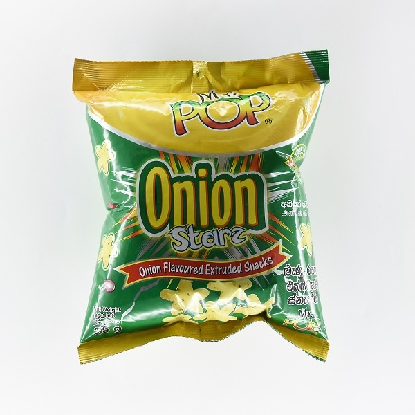 Mr. Pop Onion Star Snacks 35g - in Sri Lanka