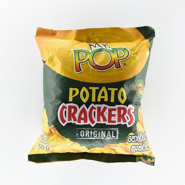Mr. Pop Potato Cracker 50G - in Sri Lanka