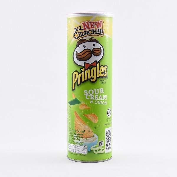 Pringles Sour Cream & Onion Potato Chips 107g - in Sri Lanka