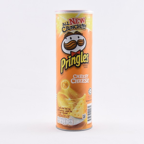 Pringles Cheesy Potato Chips 107g - in Sri Lanka