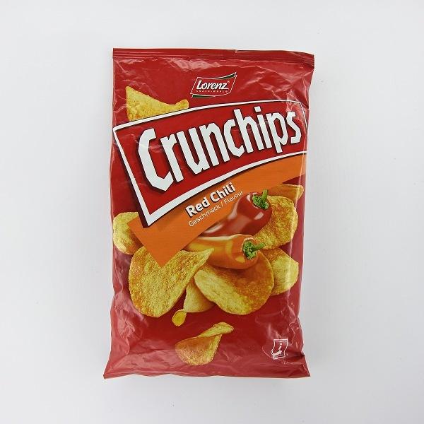 Lorenz Crunchips Red Chili Potato Chips 100g - LORENZ - Snacks - in Sri Lanka
