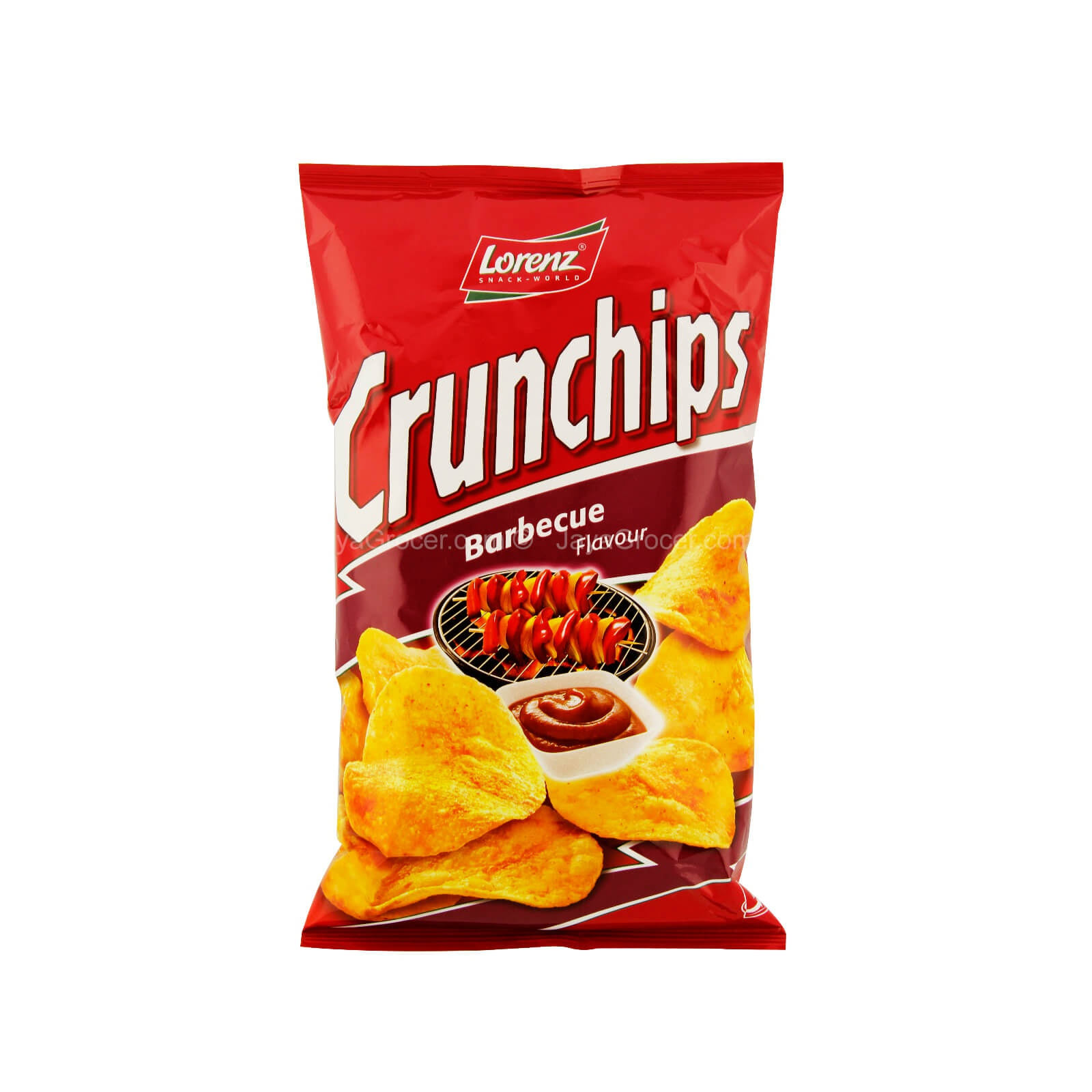 Lorenz Crunchips Barbecue Potato Chips 100g - in Sri Lanka