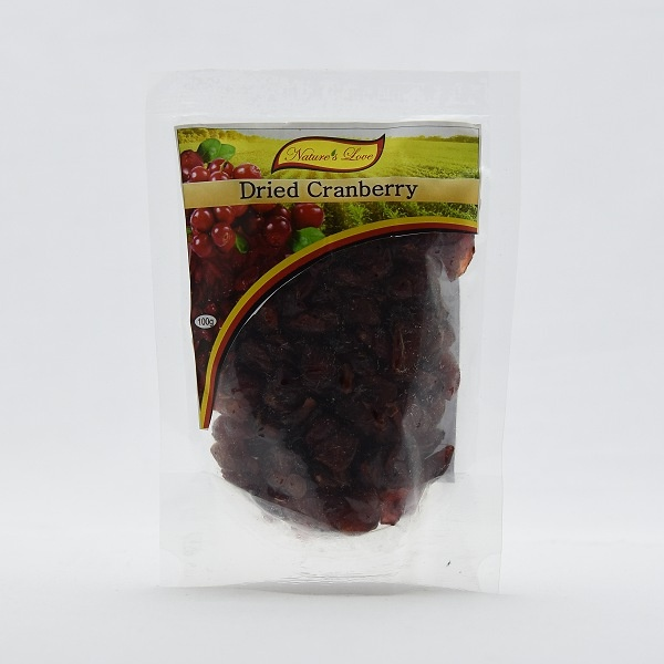Nature's Love Dried Cranberry 100g - in Sri Lanka