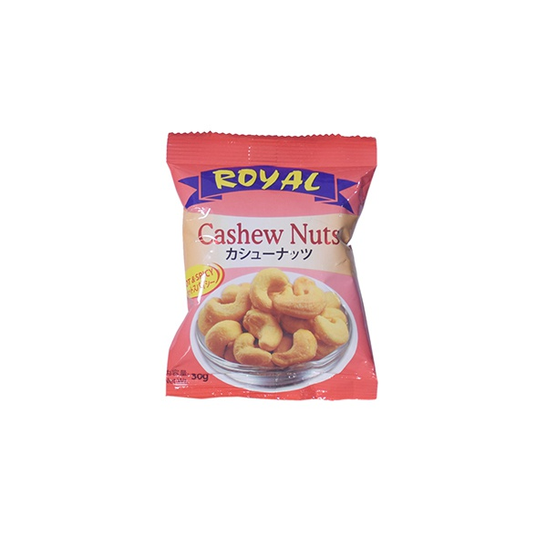 Royal Cashews Hot & Spicy Cashew 30G - in Sri Lanka