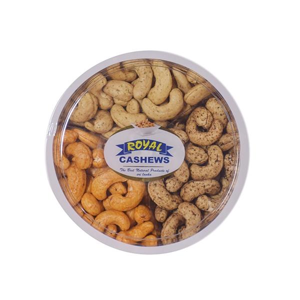 Royal Cashews Hot Pepper/ Sour Cream/ Cheese & Onion Cashew Gift Pack 3 In 1 500g - in Sri Lanka