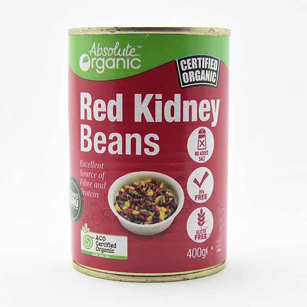 Absolute Organic Red Kidney Beans 400g - in Sri Lanka