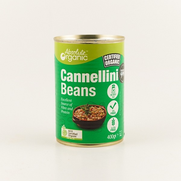 Absolute Organic Cannellini Beans 400g - in Sri Lanka