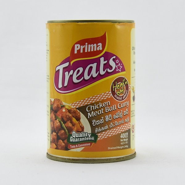 Prima Canned Meat Ball Curry 400G - in Sri Lanka