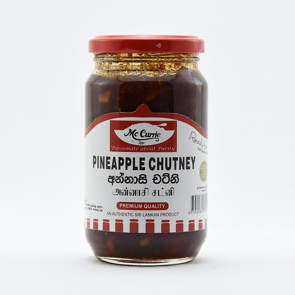 Mccurrie Pineapple Chutney 450G - in Sri Lanka