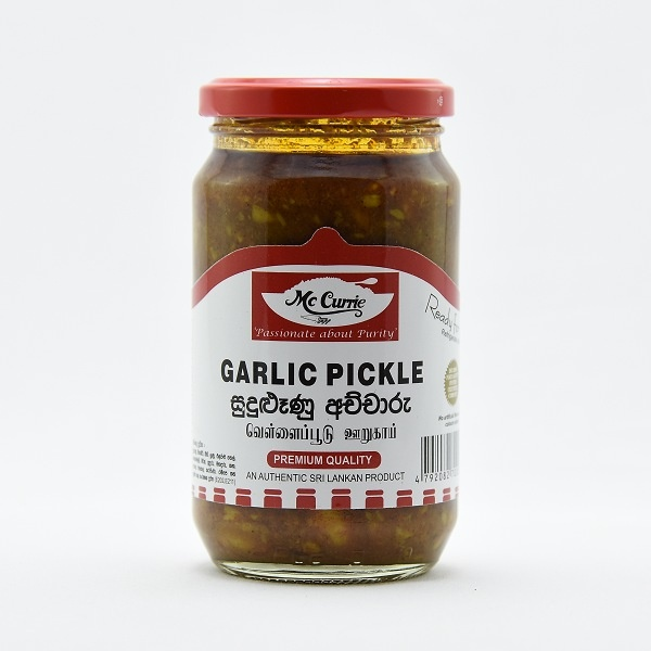 Mccurrie Garlic Pickle 375G - in Sri Lanka