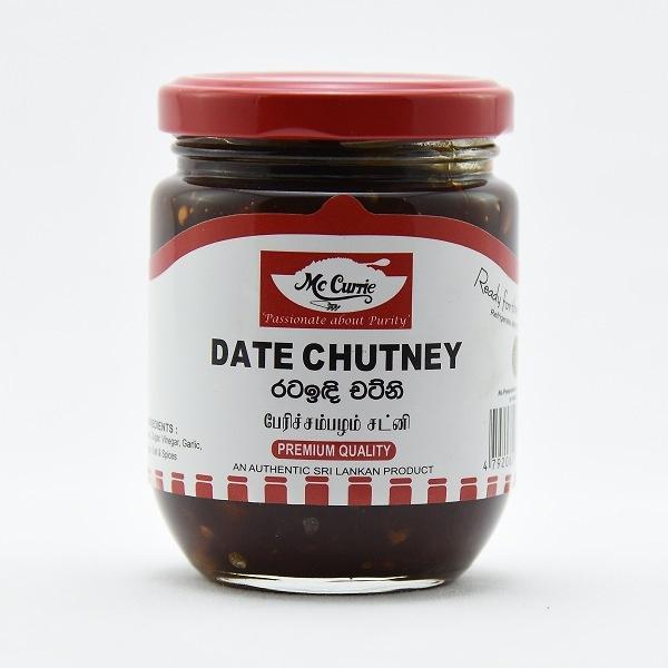 Mccurrie Date Chutney 300G - MCCURRIE - Condiments - in Sri Lanka