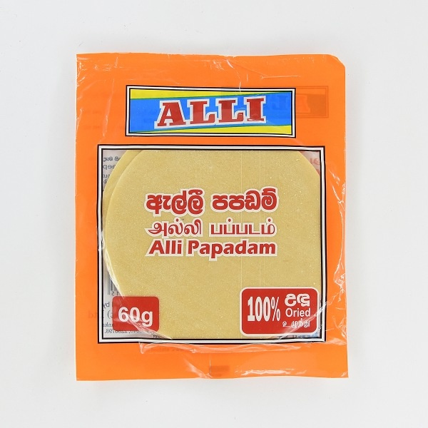 Alli Papadam 60g - in Sri Lanka