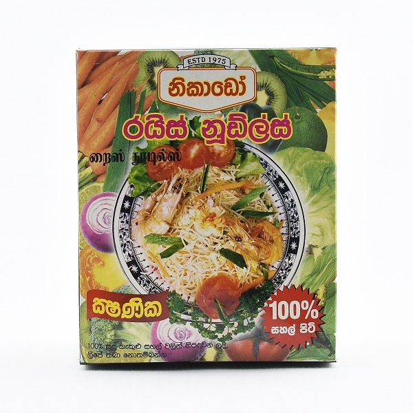 Nikado Instant Noodles Rice 200g - in Sri Lanka