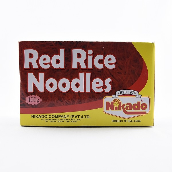 Nikado Instant Noodles Red Rice 400g - in Sri Lanka
