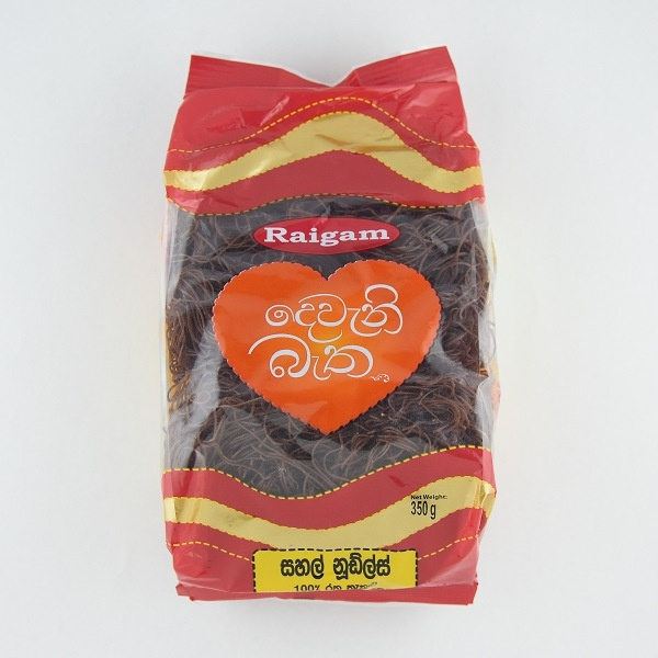 Raigam Noodles Deveni Batha Red Rice 350g - in Sri Lanka