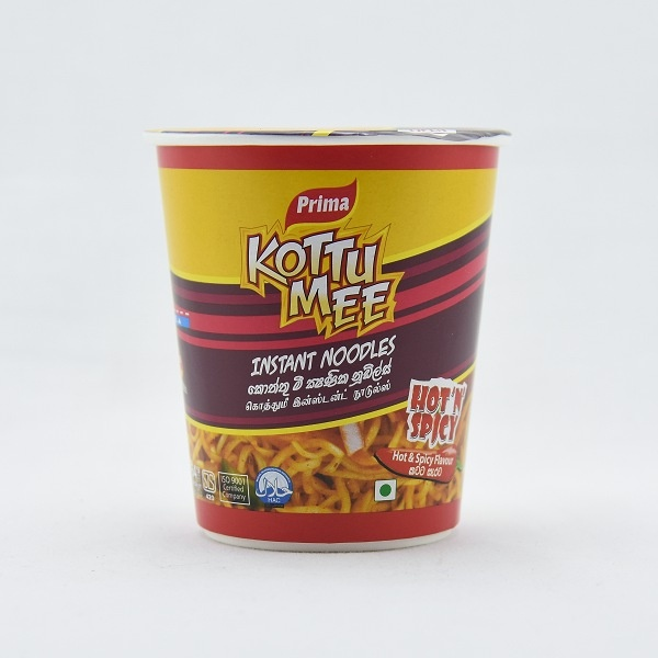 Prima Noodles Kottu Mee Hot & Spicy Cup 75g - in Sri Lanka