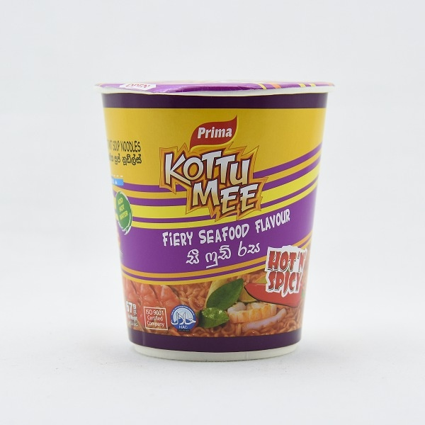 Prima Noodles Kottu Mee Fiery Seafood Cup 67g - in Sri Lanka