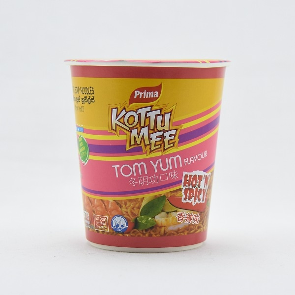 Prima Noodles Kottu Mee Tom Yum Cup 75g - in Sri Lanka
