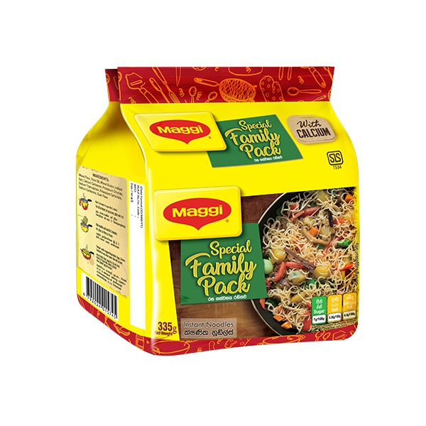 Maggi Noodles Family Pack 335G - in Sri Lanka