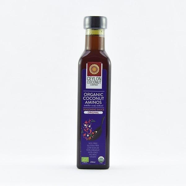 Ceylon Coconut Company Organic Coconut Aminos Original 250ml - in Sri Lanka