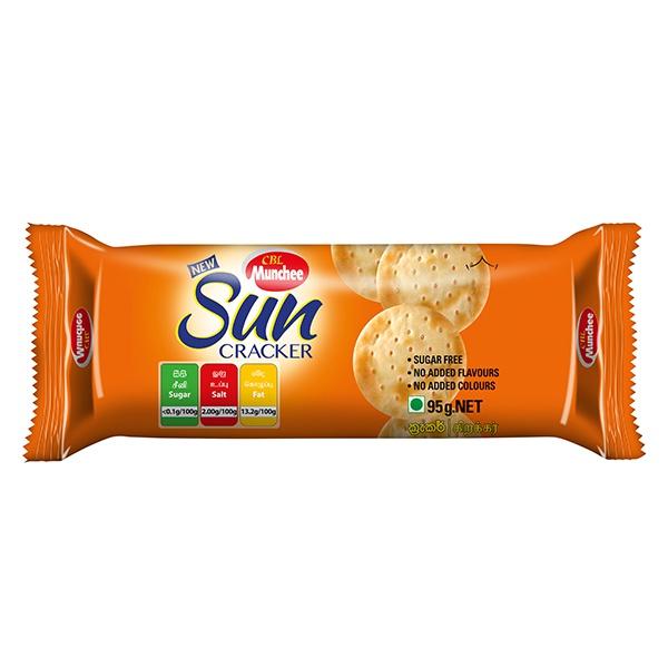 Munchee Biscuit Sun Cracker 95g - in Sri Lanka