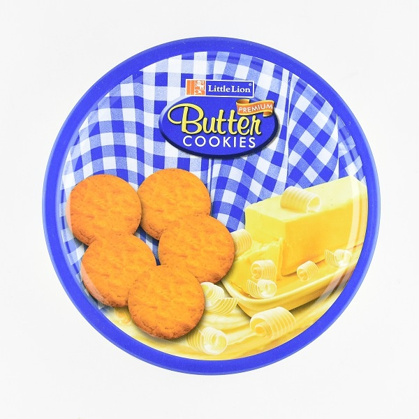 Little Lion Biscuit Butter Cookies Tin 330g - in Sri Lanka