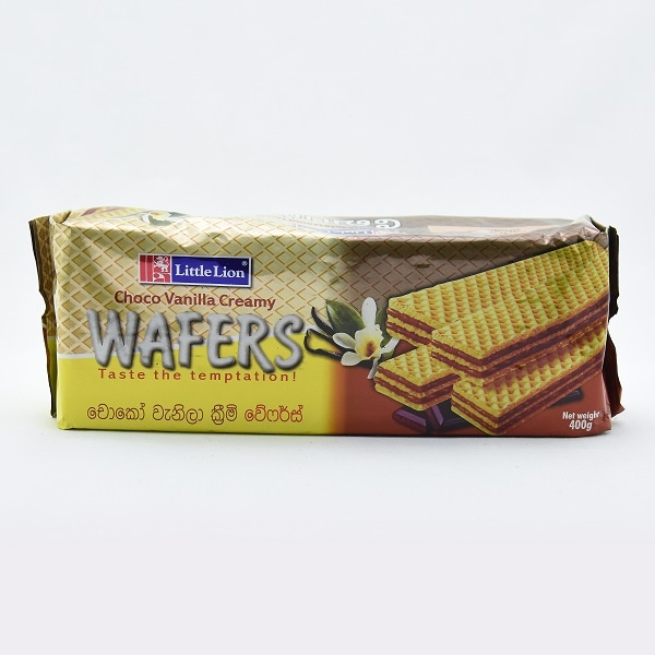 Little Lion Choco Vanilla Wafer 400g - in Sri Lanka