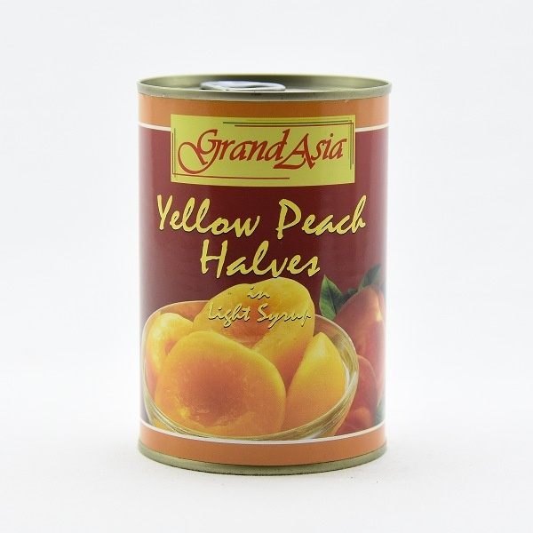 Grand Asia Peach Halves In Light Syrup 420g - in Sri Lanka