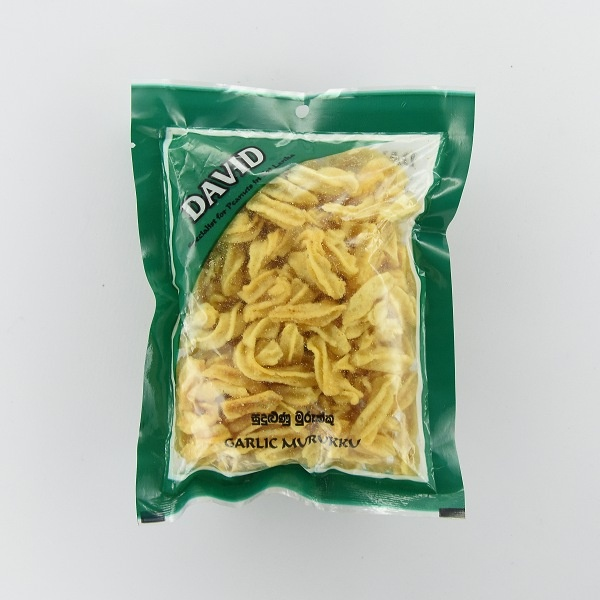 David Garlic Murukku 100G - DAVID - Snacks - in Sri Lanka