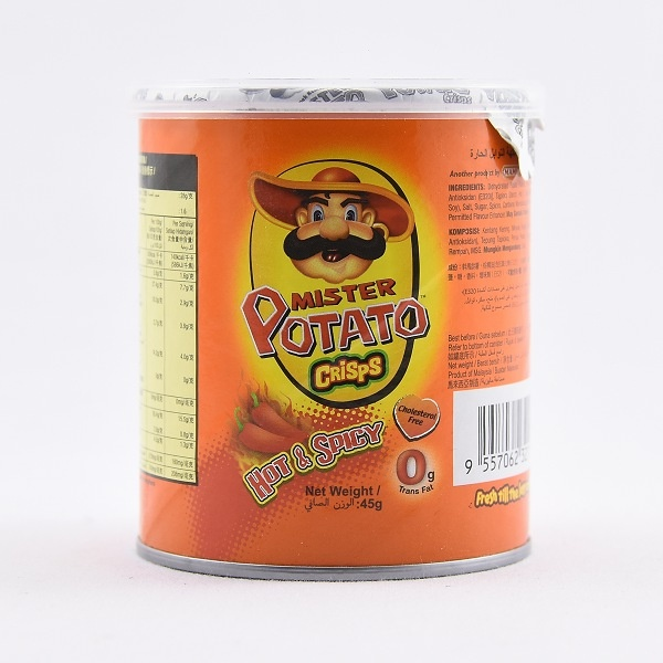 Mister Potato Hot/spicy Crisps 45g - in Sri Lanka