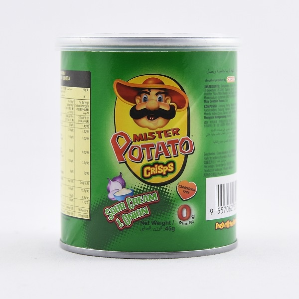 Mister Potato Sour Cream/onion 45g - in Sri Lanka