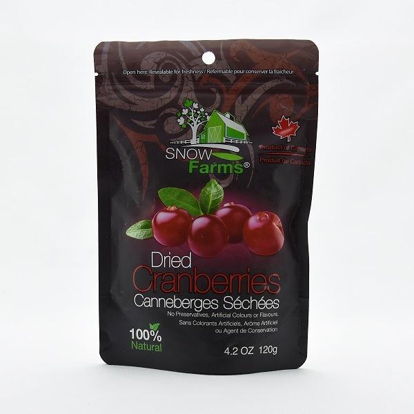 Snow Farms Dried Sweetened Cranberry 120g - SNOW FARMS - Snacks - in Sri Lanka