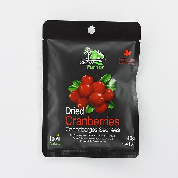Snow Farms Dried Sweetened Cranberry 40g - in Sri Lanka