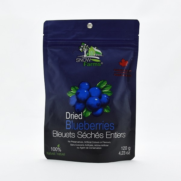 Snow Farms Dried Sweetened Blueberry 120g - SNOW FARMS - Snacks - in Sri Lanka