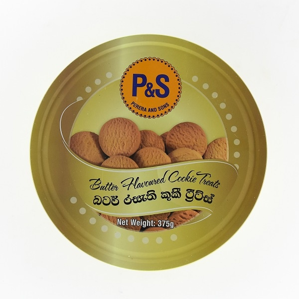 P&s Biscuit Butter Cookie Tin 375g - in Sri Lanka