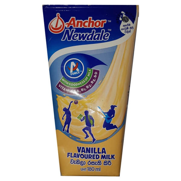 Anchor Newdale Milk Vanilla Uht Tetra 180ml - in Sri Lanka