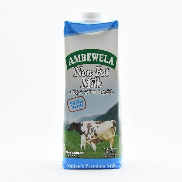 Ambewela Milk Non Fat 1l - in Sri Lanka