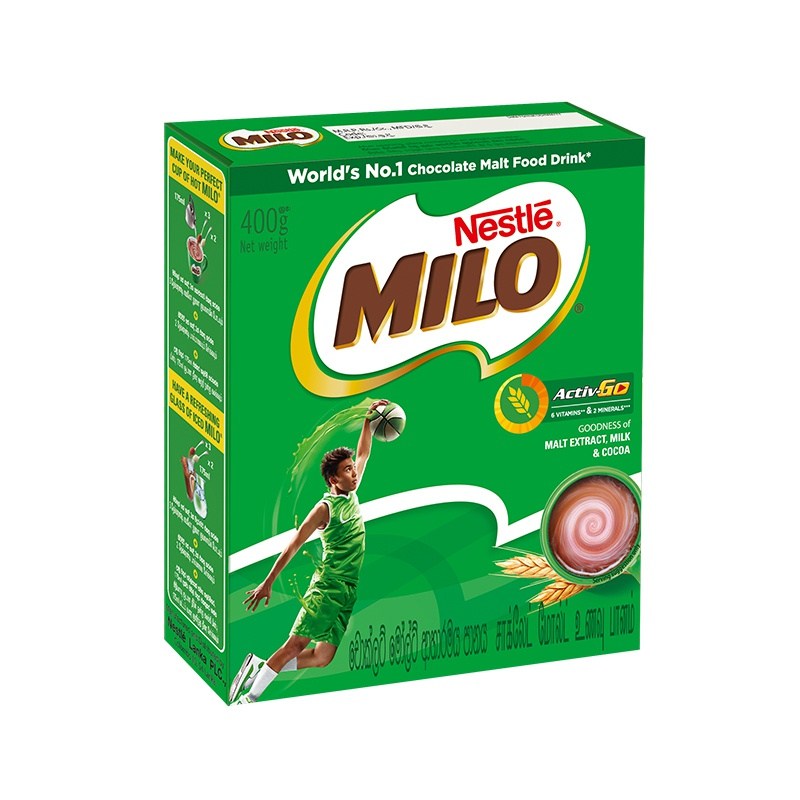 Milo Malt Drink Packet 400g - in Sri Lanka