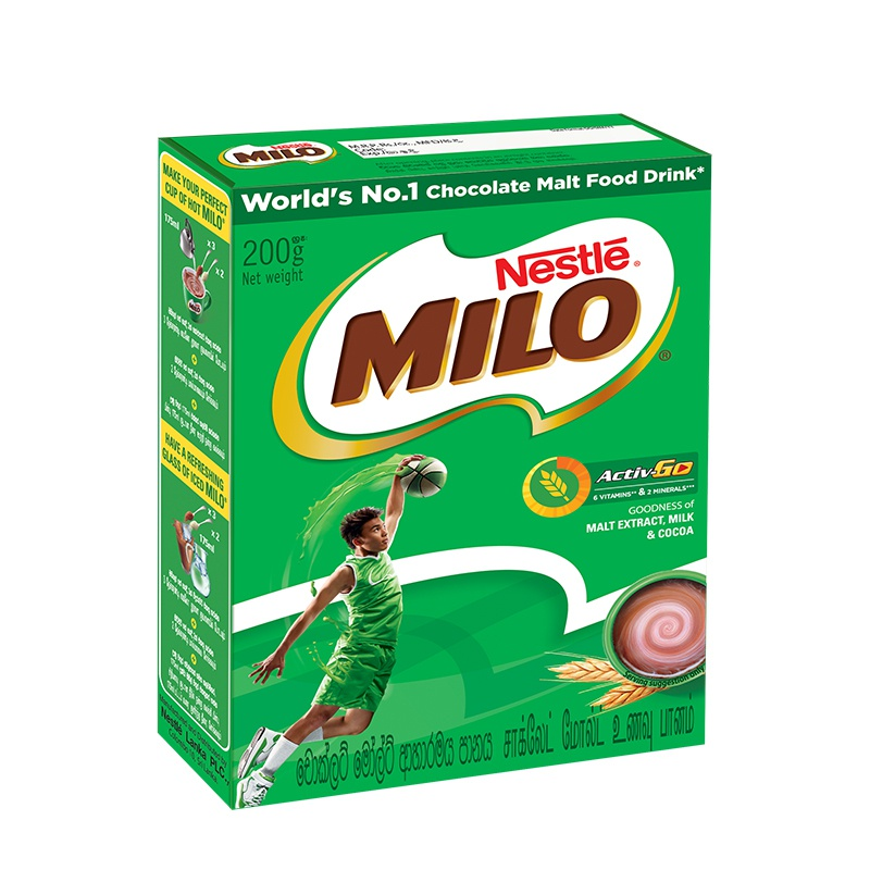 Milo Malt Drink Packet 200g - in Sri Lanka