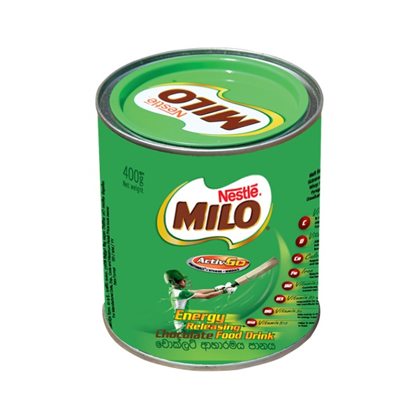 Milo Malt Drink Tin 400g - in Sri Lanka